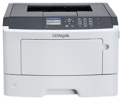 Lexmark MS510dn Toner Compatible y Cartucho Original